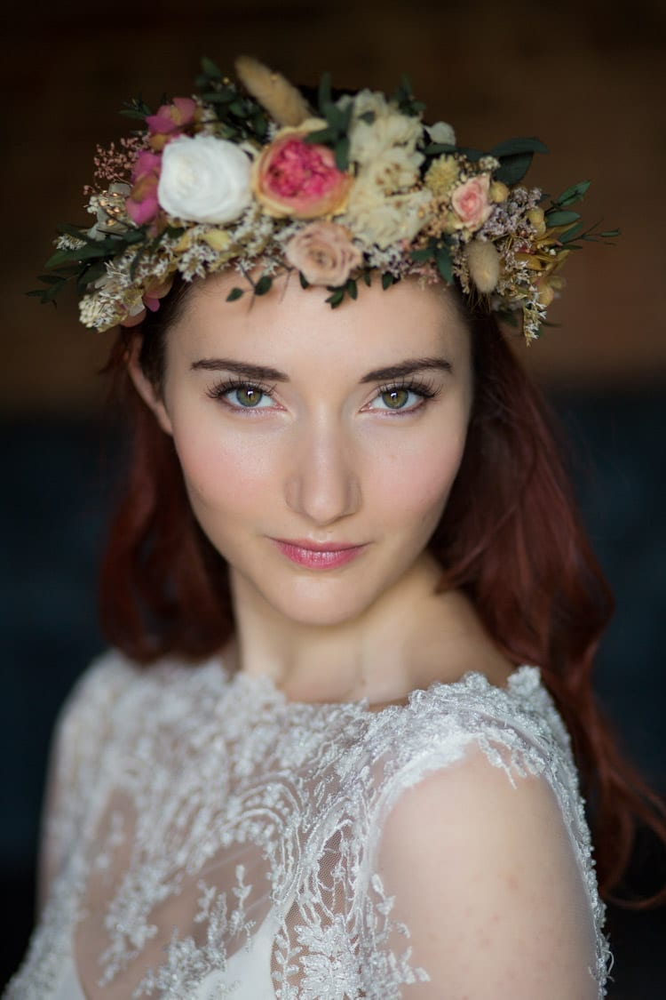 Bespoke flower crown
