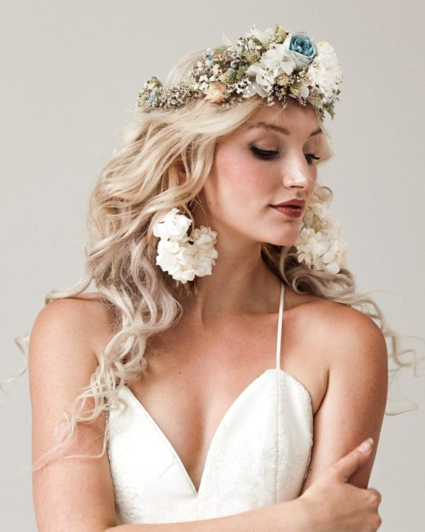 flower crown bridal