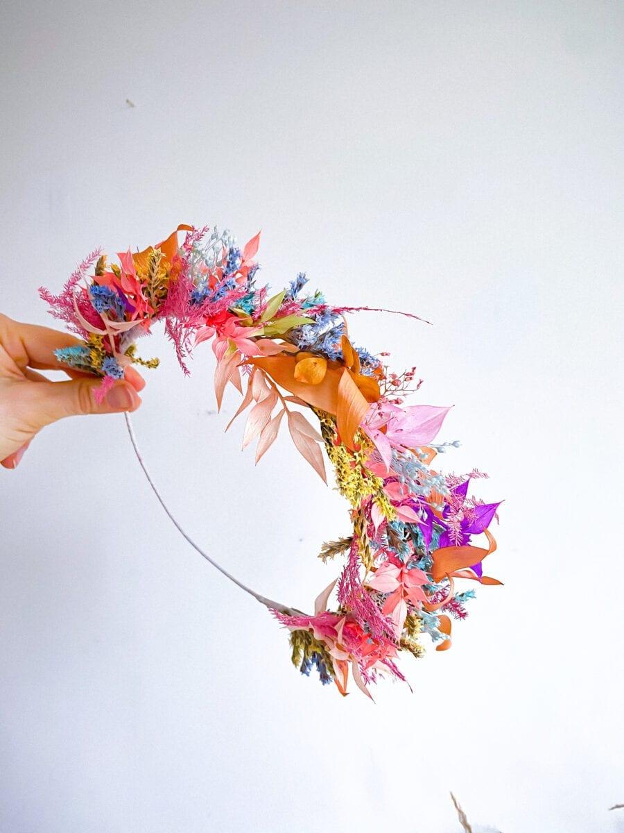 diy flower crown kit uk